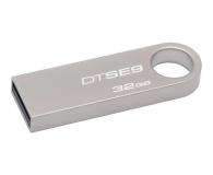 Kingston 32GB DataTraveler SE9 (Metalowy) (DTSE9H/32GB)