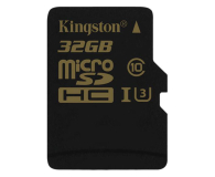 Kingston 32GB microSDHC UHS-I U3 zapis 45MB/s odczyt 90MB/s (SDCG/32GB)