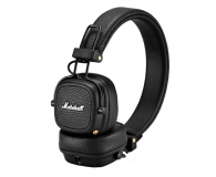 Marshall Major III Bluetooth Czarne  (MAJORIIIBTBLK)