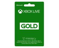 Microsoft Abonament Xbox Live GOLD 12 miesięcy (52M-00548)