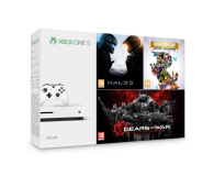 Microsoft Xbox One S 500GB + Halo 5 + Rare Replay + GoW (ZQ9-00012)