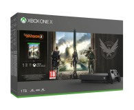 Microsoft Xbox One X + Tom Clancy's The Division 2  (CYV-00264)