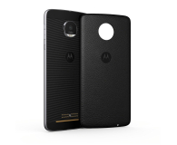 Motorola Moto Mods Skórzane Plecki Moto Style Shell czarne (Moto Z ASMCAPBKREU/ASMCAPBKLREU)