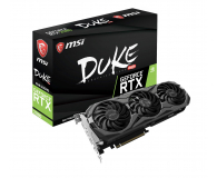 MSI GeForce RTX 2080 DUKE 8G OC 8GB GDDR6 (GeForce RTX 2080 DUKE 8G OC)