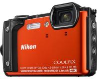 Nikon Coolpix W300 pomarańczowy Holiday Kit  (VQA071K001)