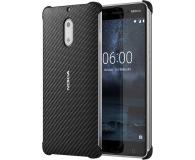 Nokia Carbon Fibre Design Case do Nokia 6 Onyx Black (CC-802 Onyx Black)