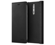 Nokia Leather Flip Cover do Nokia 8 Black (CP-801 Black)