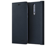 Nokia Leather Flip Cover do Nokia 8 Blue (CP-801 Blue)