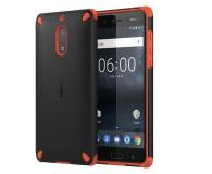 Nokia Rugged Impact Case do Nokia 6 Orange Black (CC-501 Orange Black)