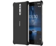 Nokia Soft Touch Case do Nokia 8 Black (CC-801 Black)