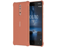 Nokia Soft Touch Case do Nokia 8 Copper (CC-801 Copper)