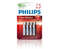 Philips Power Alkaline AAA 4szt (LR03P4B/10)