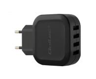 Qoltec Ładowarka Sieciowa 4 x USB 4,8A 24W  (50192)