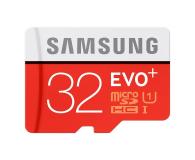 Samsung 32GB microSDHC Evo+ zapis 20MB/s odczyt 80MB/s  (MB-MC32DA/EU)