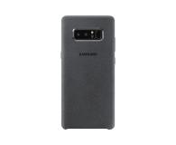 Samsung Alcantara Cover do Galaxy Note 8 Dark Grey (EF-XN950AJEGWW)