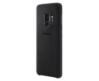Samsung Alcantara Cover do Galaxy S9 Black (EF-XG960ABEGWW)