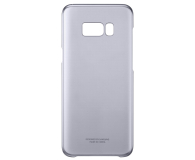 Samsung Clear Cover do Galaxy S8+ fioletowy (EF-QG955CVEGWW)