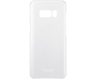 Samsung Clear Cover do Galaxy S8+ srebrny (EF-QG955CSEGWW)