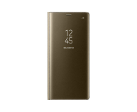 Samsung Clear View Standing Cover do Galaxy Note 8 Gold (EF-ZN950CFEGWW)