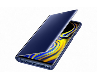 Samsung Clear View Standing Cover do Note 9 niebieski (EF-ZN960CLEGWW)