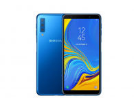 Samsung Galaxy A7 A750F 2018 4/64GB LTE FHD+ Niebieski  (SM-A750FZBUXEO)