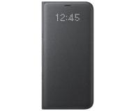 Samsung LED View Cover do Galaxy S8+ Czarny (EF-NG955PBEGWW)