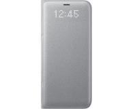 Samsung LED View Cover do Galaxy S8 srebrny (EF-NG950PSEGWW)