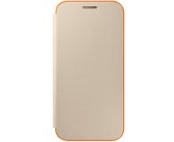 Samsung Neon Flip Cover do Galaxy A3 2017 złoty (EF-FA320PFEGWW)