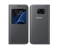 Samsung S-View Cover do Galaxy S7 Edge czarny (EF-CG935PBEGWW)