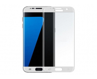 Samsung Szkło Hartowane 3D do Galaxy S7 Edge Białe (GP-G935QCEEBAA)