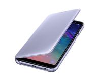Samsung Wallet Cover do Samsung Galaxy A6+ fioletowy (EF-WA605CVEGWW)