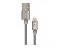Silver Monkey Kabel do iPhone, iPad 1.5m, MFI (MFI-015SM02)