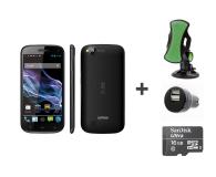 Smartfon/Telefon/Fablet myPhone S-LINE 16GB czarny +16GB +uchwyt +ładowarka sam.