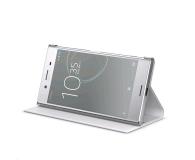 Sony Style Flip Cover SCSG10 do Xperia XZ Premium White (SCSG10 White)