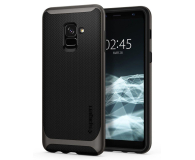 Spigen Neo Hybrid do Galaxy A8 Gunmetal (8809565304521 / 590CS22754)