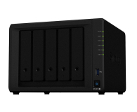 Synology DS1019+ (5xHDD, 4x1.5-2.3GHz, 8GB, 2xUSB, 2xLAN) (DS1019+)
