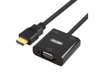 Unitek Adapter HDMI do VGA + audio (Y-6333)