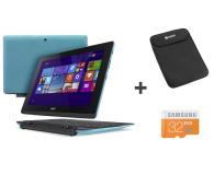 Urządzenie hybrydowe 2 w 1 Acer Switch 10E Z3735F/2GB/32+500/Win8.1+st.+ZESTAW NT.G0NEP.002