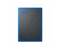 WD My Passport GO SSD 500 GB niebieski (WDBMCG5000ABT-WESN      )