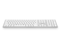 x-kom Aluminium Wireless Keyboard (Srebrna) (XK-83BT-S)
