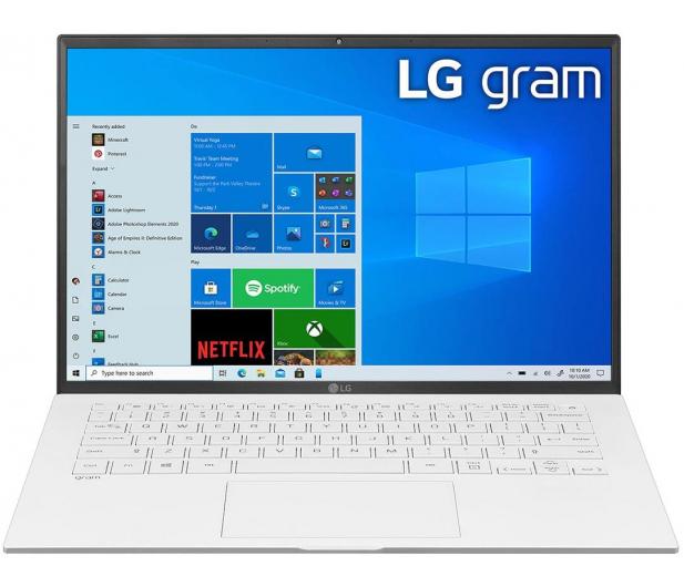 LG GRAM 14Z90P i3 11gen/8GB/256/Win10 biały