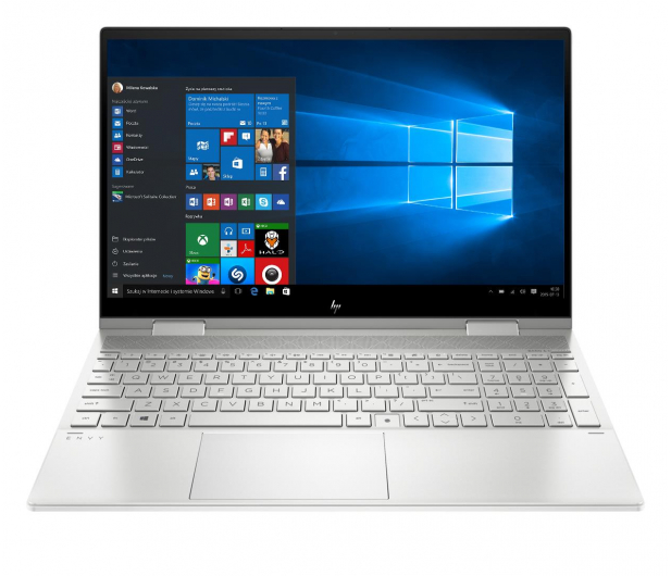 HP ENVY 15 x360 i5-1135G7/8GB/256/Win10 Silver