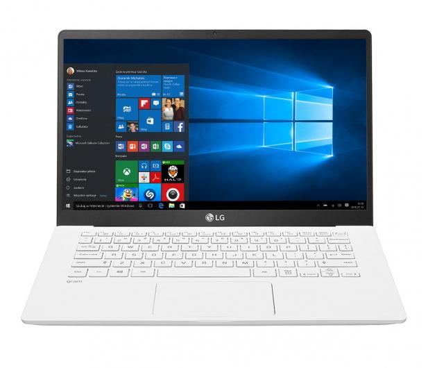 LG GRAM 14Z90N i5-1035G7/8GB/256/Win10 biały