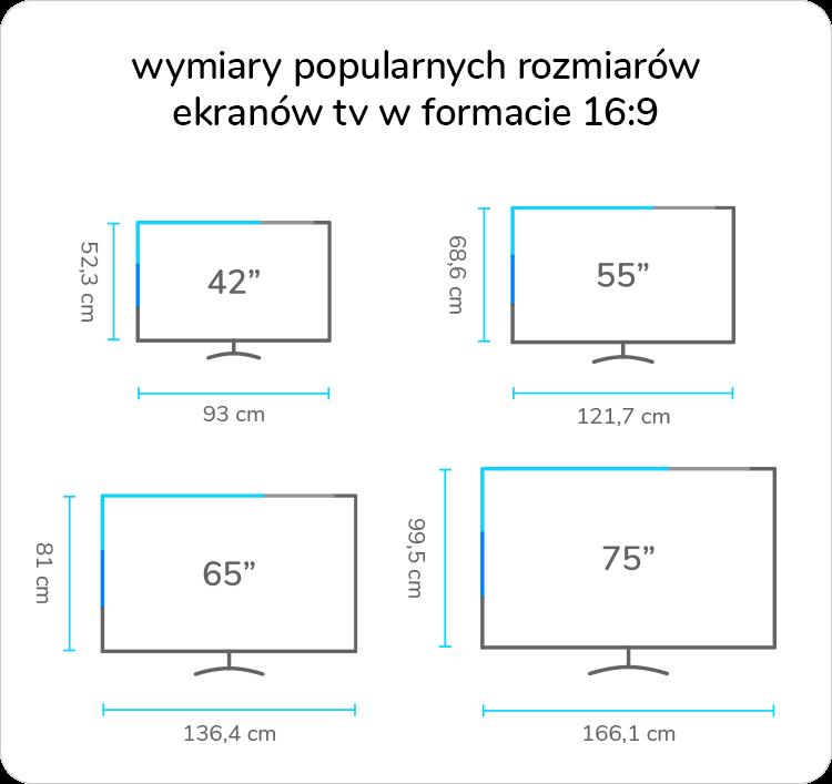 wymiary tv