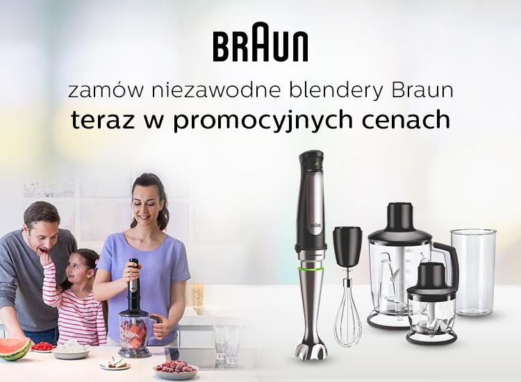 promocja na blendery braun