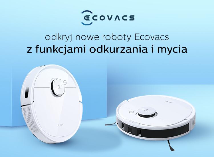 ecovacs roboty sprzątające nowości 2021
