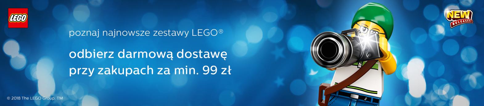 Nowości LEGO 2018 styczeń