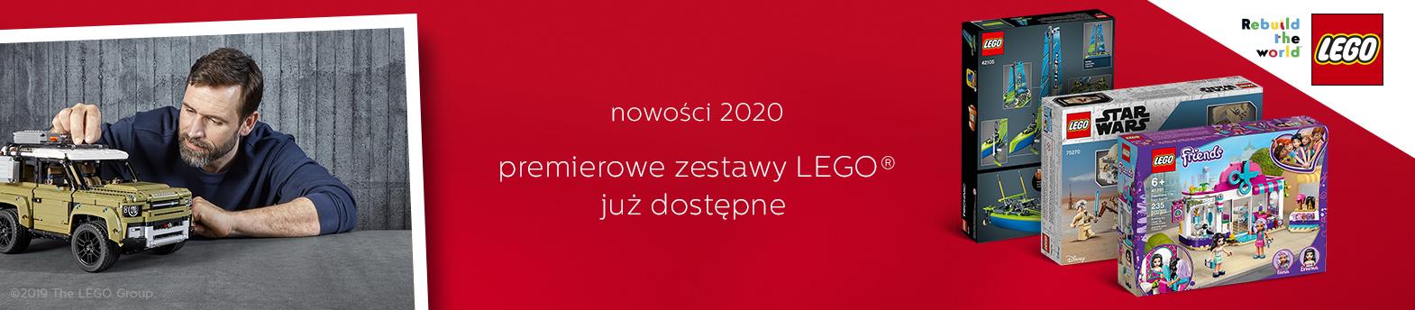LEGO nowości