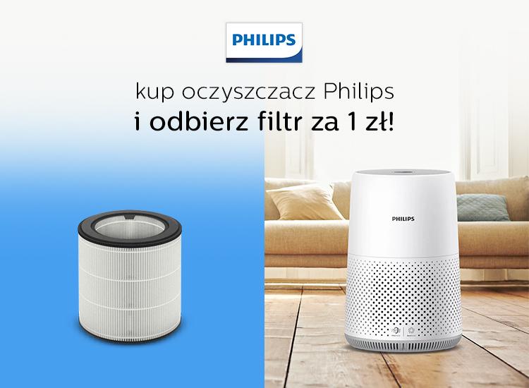 filtr za złotówkę do oczyszczacza philips