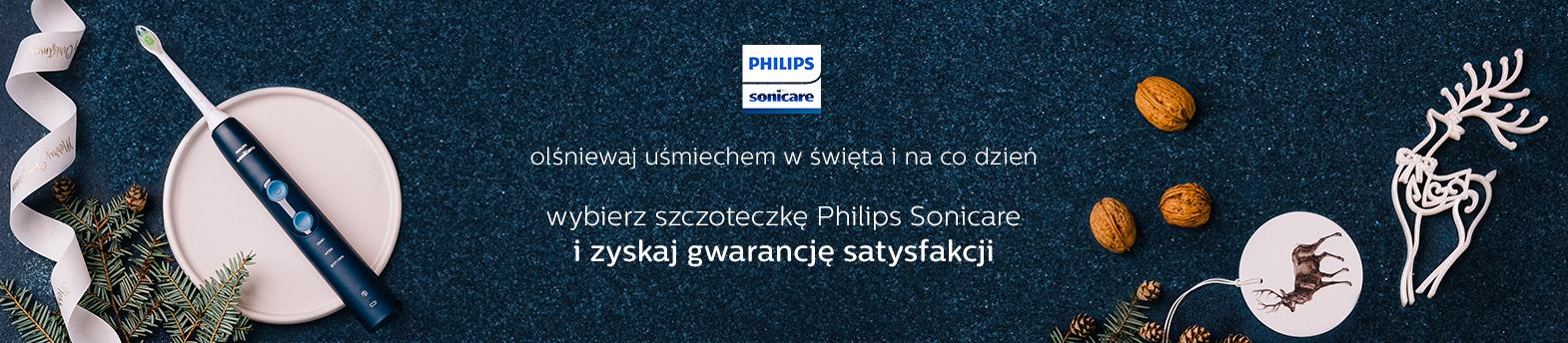 Philips Sonicare szczoteczki - satysfakcja albo zwrot pieniędzy